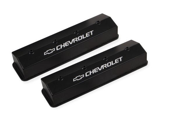 Chevy Dealers In Va >> Holley 241-286 Holley GM Licensed Track Series Valve Covers