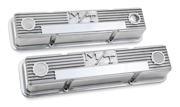 241-82 - M/T Valve Covers for Chevy small block engines - Polished Image
