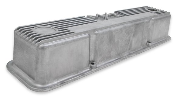 241-86 - M/T Valve Covers for Small Block Chevy Engines – Natural Cast Finish - additional Image