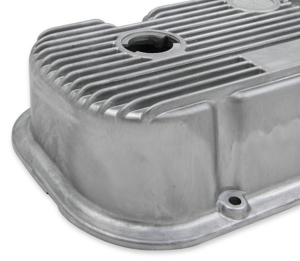 241-87 - M/T Valve Covers for Big Block Chevy Engines – Natural Cast Finish - additional Image