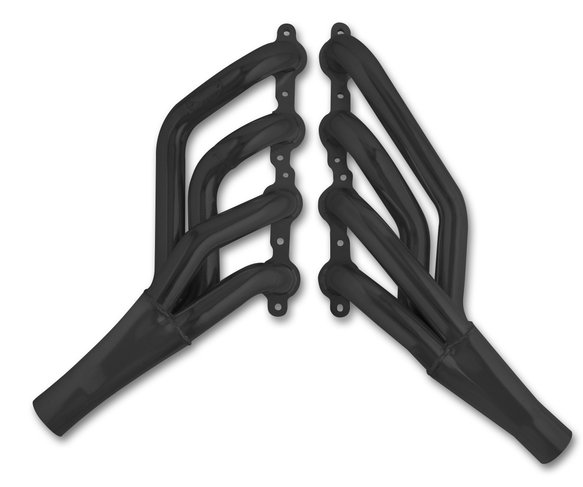 2471-3HKR - Hooker BlackHeart Mid-Length Header - Black Ceramic Coated Image