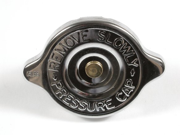 2481 - CHROME RADIATOR CAP 15-18LBS Image