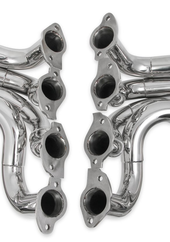 2501-6HKR - Hooker RacingHeart 3-Step Dragster Headers - Chrome - additional Image