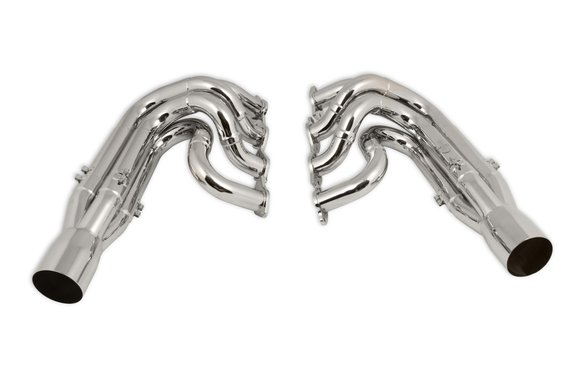 2502-6HKR - Hooker Racingheart 3-Step Dragster Headers - Chrome Image