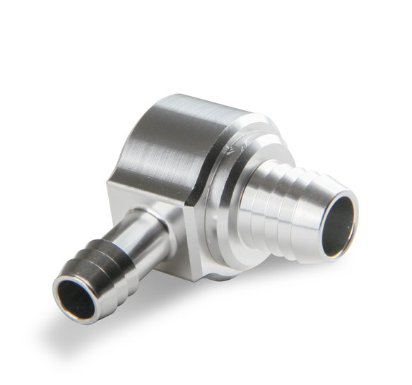 252007ERL - Earls Brake Booster Check Valve - Billet Aluminum - 90 Degree - additional Image