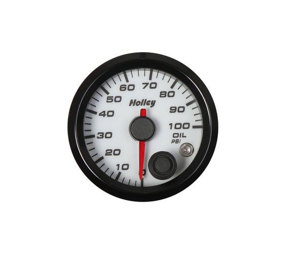 26-601W - Holley Analog Style Oil Pressure Gauge Image