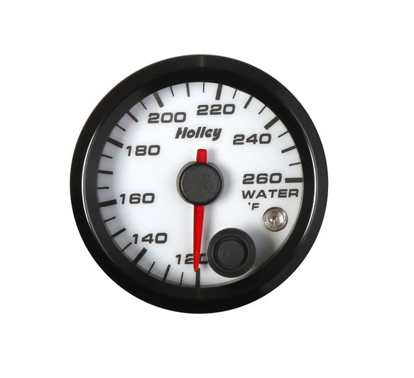 26-602W - Holley Analog Style Water Temperature Gauge Image