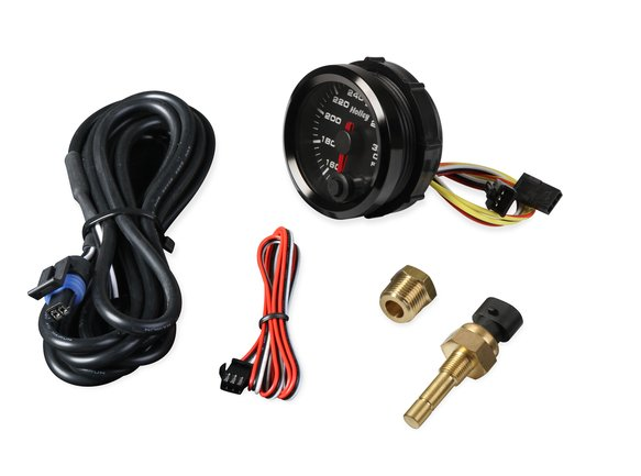 26-604 - Holley Analog Style Oil Temperature Gauge - additional Image