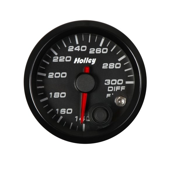 26-607 - Holley Analog Style Differential Temperature Gauge Image