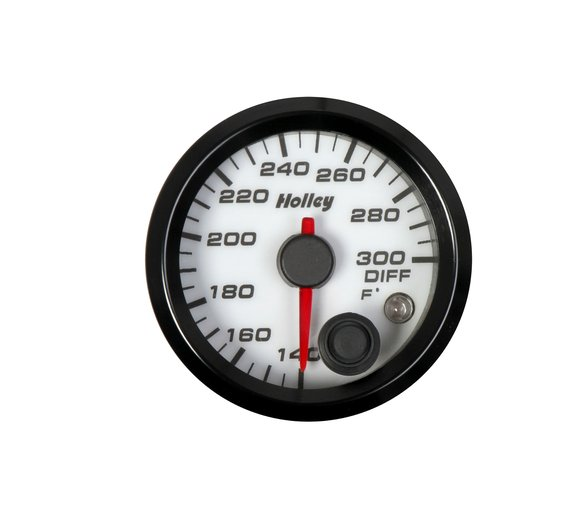26-607W - Holley Analog Style Differential Temperature Gauge Image