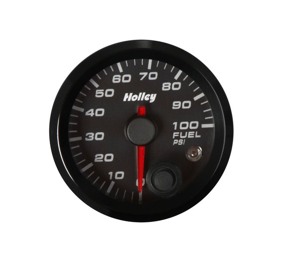 26-608 - Holley Analog Style Fuel Pressure Gauge Image