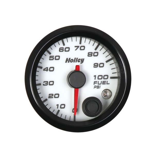 26-608W - Holley Analog Style Fuel Pressure Gauge Image