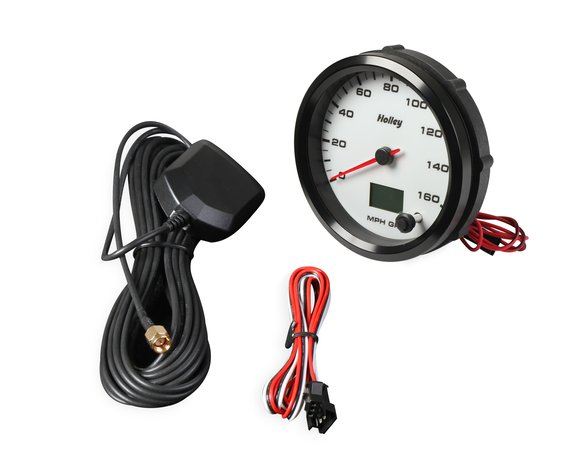 26-610W - Holley Analog Style Speedometer - additional Image