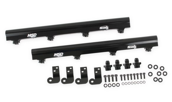2720 - MSD Atomic EFI Billet Fuel Rails - additional Image