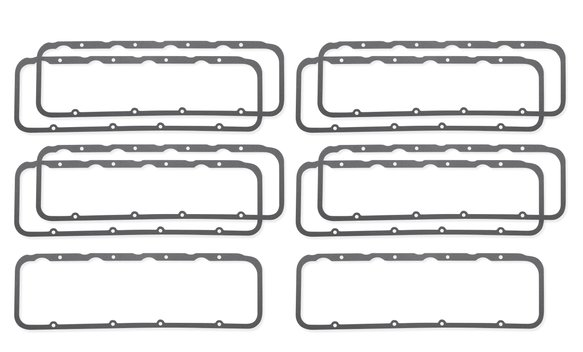 2745SMP - Valve Cover Gaskets - Ultra Seal - 396-502 Chevrolet Big Block Mark IV - Dart Marine Heads - Master Pack (10 Pieces) Image