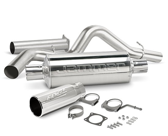 27630 - Edge Jammer Turbo-back Exhaust System - w/o Catalytic Converter Image