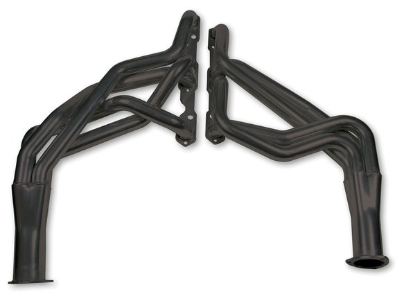 2840-3HKR - Hooker Super Competition Long Tube Header - Black Ceramic Coated Image