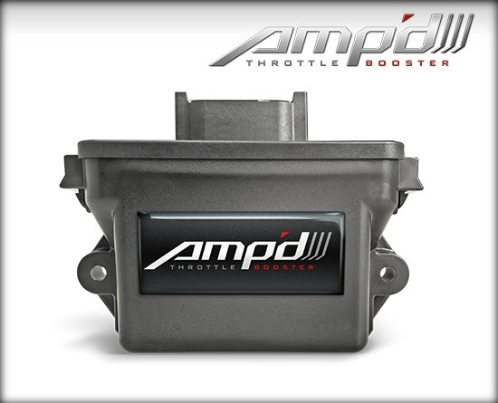 28855-D - Amp'D Throttle Booster 2001-2005 GMC/Chevrolet 6.6L Duramax Image