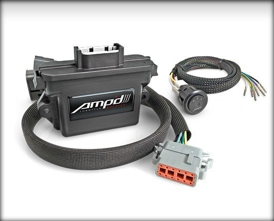28862 - Amp'D Throttle Booster Kit with Power Switch 2019+ GMC/Chevrolet Gas Trucks Image