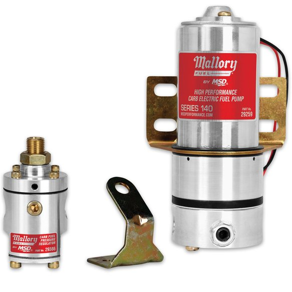 29209 - Mallory Model 140 Fuel Pump with Non-Bypass Regulator Image