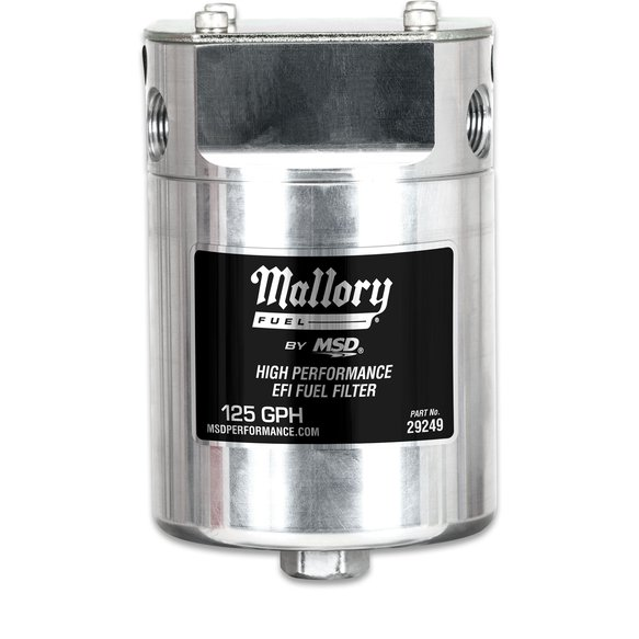 29249 - Mallory High Pressure EFI Fuel Filter Image