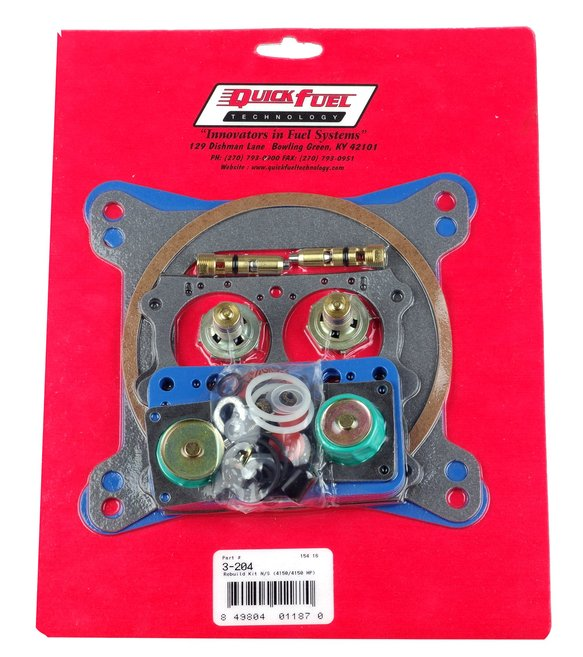 3-208QFT - Non-Stick Rebuild Kit; Alcohol/E85  4150/4150 H.P. Image