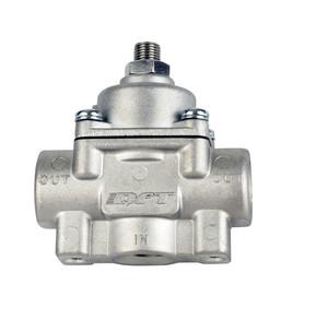 New BLACK high pressure fuel regulator w// boost 8AN 8//8//6 Pressure Regulator