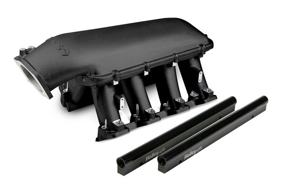 300-117BK - Holley Hi-Ram Intake - Black Image