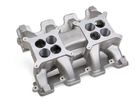 300-133 - Holley LS Carbureted Manifold 2x4 Dual Plane LS3/L92 Image
