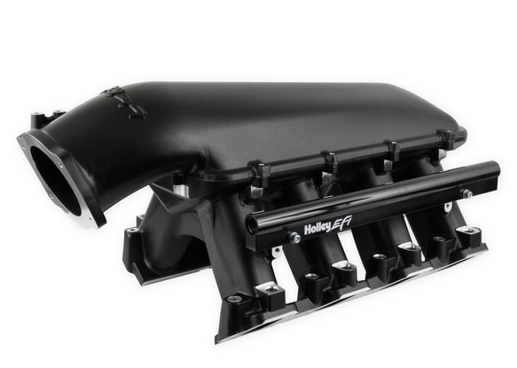 300-124BK - Holley LS Hi-Ram EFI Manifold-Black - default Image