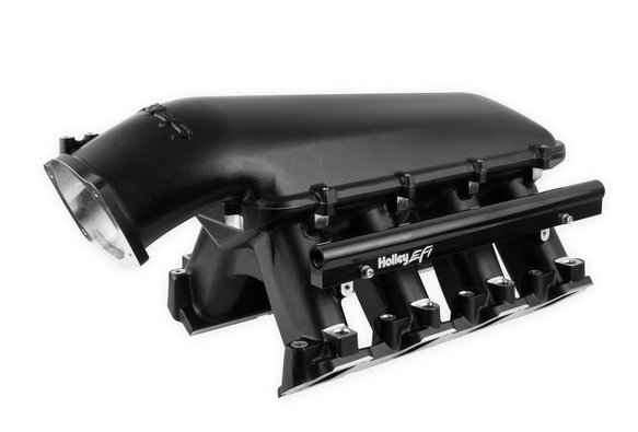 300-125BK - Holley LS Hi-Ram EFI Manifold- Black - default Image