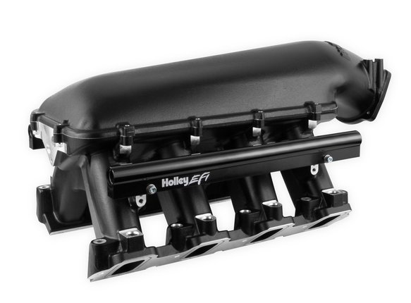 300-125BK - Holley LS Hi-Ram EFI Manifold- Black - additional Image