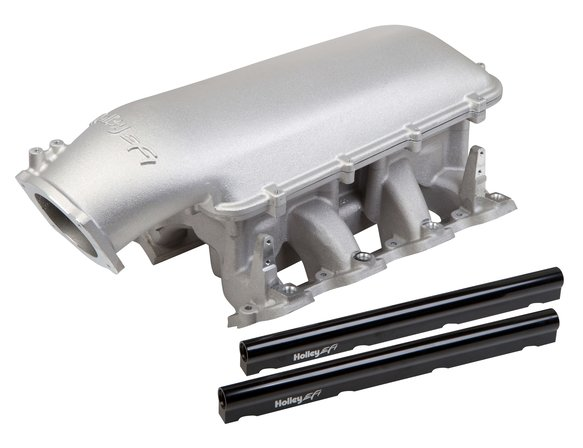 300-127 - Holley Mid-Rise Intake - GM LS1/LS2/LS6 w/ 105mm Top Image