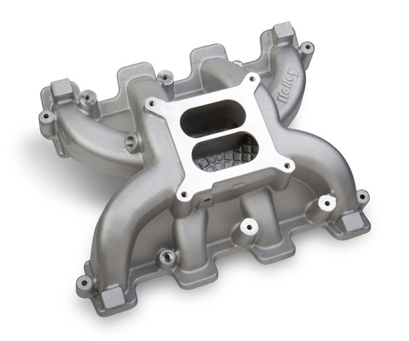 300-129 - Holley Dual Plane Carbureted Intake - GM LS3/L92 Image