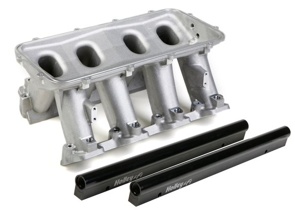 300-214 - Holley Hi-Ram Lower Manifold - GM LS3/L92 Image