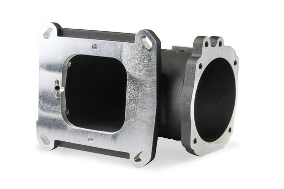 300-240FBK - EFI Throttle Body Intake Elbow-Black Finish - additional Image