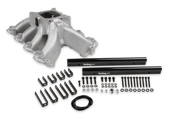300-255 - Holley Single Plane EFI  Split-Design Race Intake Manifold- GM LS1/LS2/LS6 Image