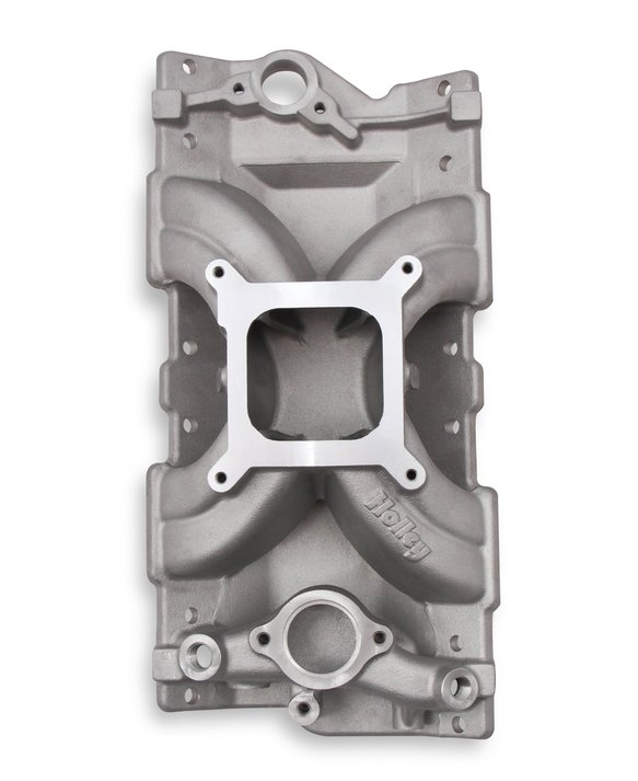 300-261 - Holley Single Plane Intake Manifold- Chevy Small Block V8 Image