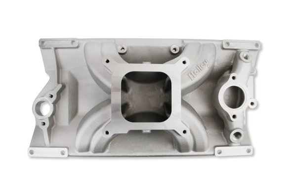 300-264 - Holley SBC 4150 Single Plane Intake Manifold - Chevy Small Block V8 with L31 Vortec cylinder heads Image