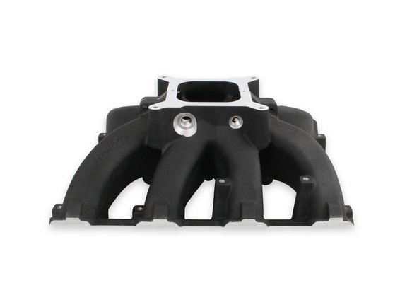 300-291BK - Holley Single Plane Split-Design Race Intake Manifold- GM LS3/L92- Black-4150 Image