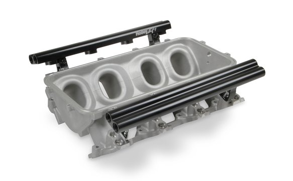 300-601 - Dual Fuel Injector LS1 Lo-Ram Manifold Base Image