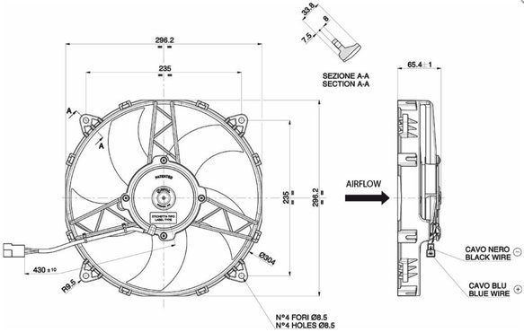 30101512 - SPAL Electric Fan - additional Image
