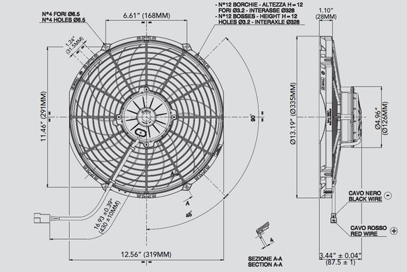 30102029 - SPAL Electric Fan - additional Image