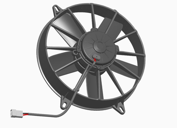 30102564 - SPAL Electric Fan - additional Image