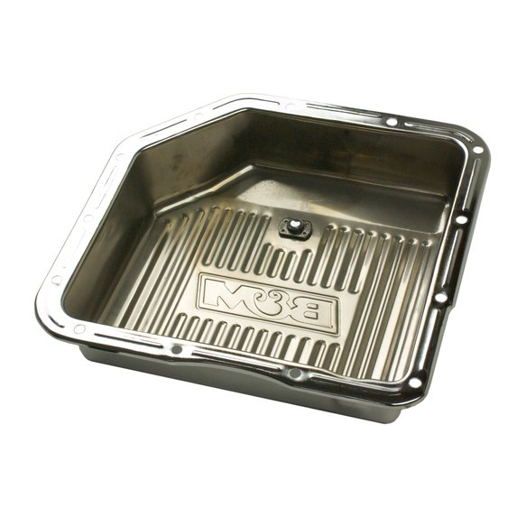 30289 - B&M Hi-Tek Deep Chrome Trans Pan for GM TH350 Transmission - additional Image
