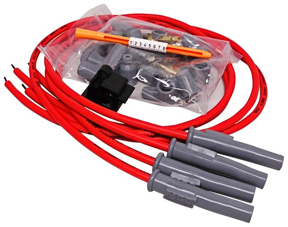 31449 - Wire Set, 8.5mm Super Conductor, Motorcycle, 4 Cylinder Image
