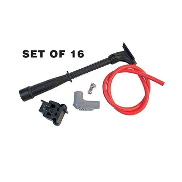 31559 - Red and Black Super Conductor Wire Set, Dual Plug Hemi Image
