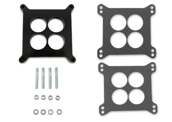 3404 - Mr. Gasket Phenolic Carburetor Spacer - 1 Inch - 4 Hole Center Image