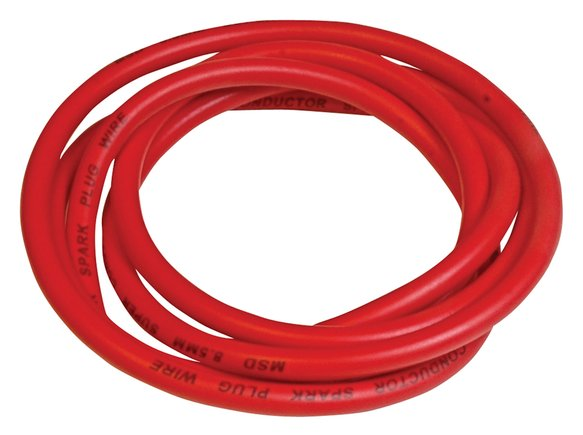 34059 - Super Conductor 8.5mm Wire, Red, 300' Bulk Image