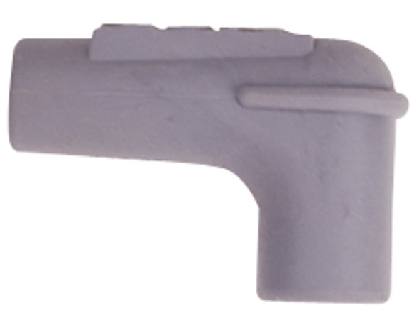 34515 - 90° Spark Plug Boot, Gray Silicone, 100each Image